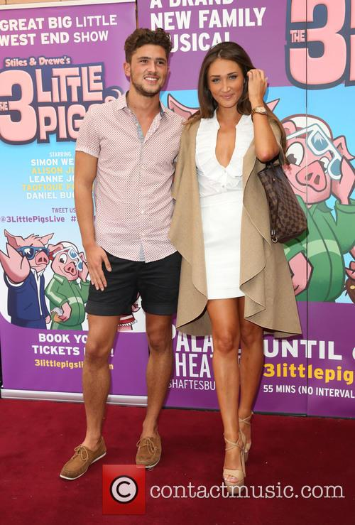 Jordan Davies and Megan Mckenna 2