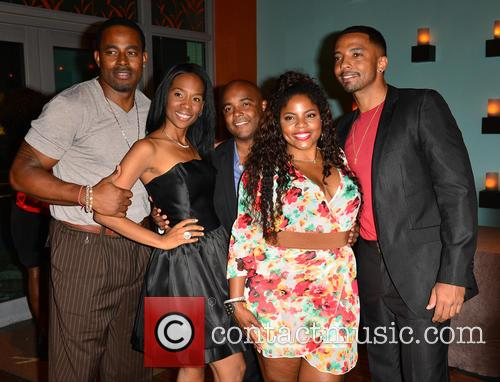 Nd Brown, Trey Haley, Brely Evans, Lamman Rucker and Christian Keyes 3