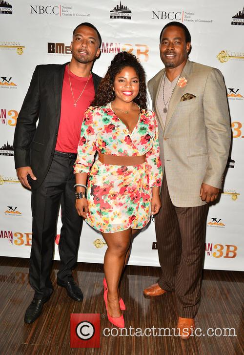 Cristian Keyes, Brely Evans and Lammond Rucker 4