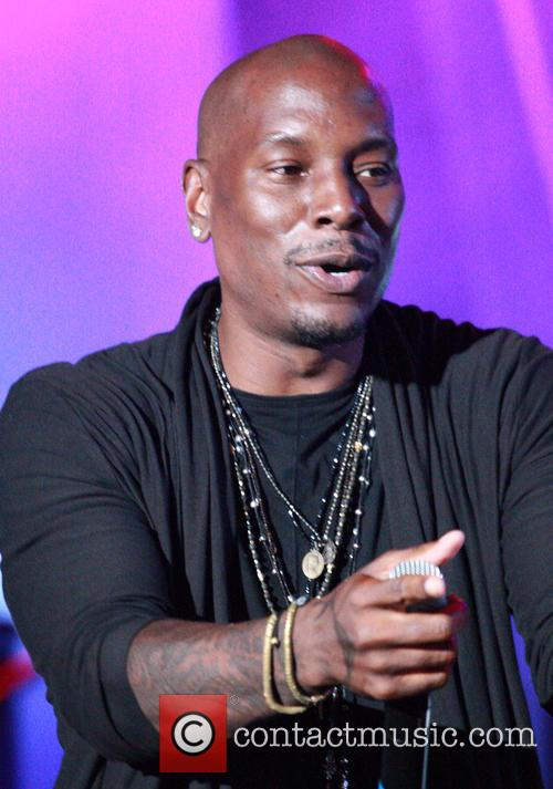 Tyrese Gibson performs live at the Dell Music...