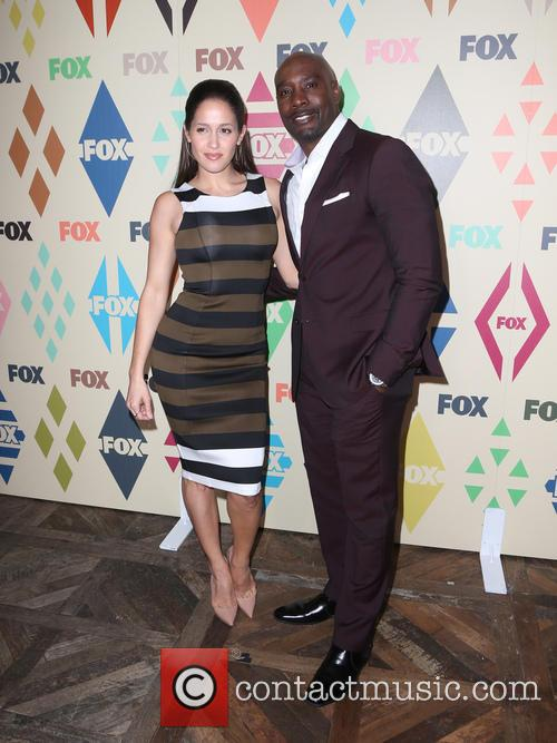 Jaina Lee Ortiz and Morris Chestnut 2