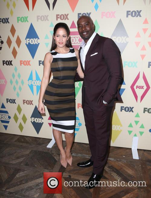 Jaina Lee Ortiz and Morris Chestnut 3