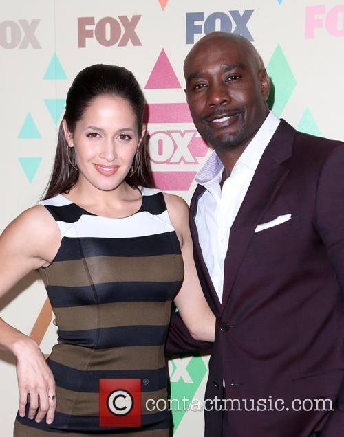 Jaina Lee Ortiz and Morris Chestnut 4