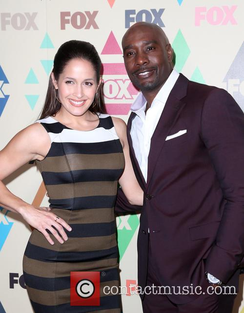 Jaina Lee Ortiz and Morris Chestnut 5