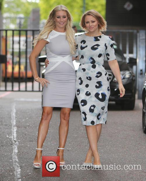 Denise Van Outen and Kimberley Walsh 2