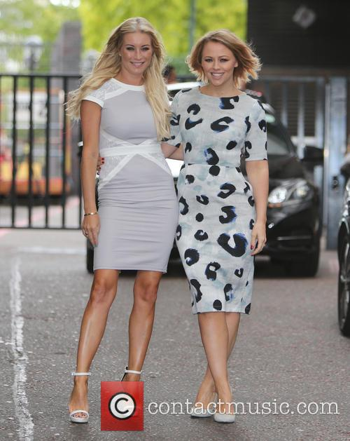 Denise Van Outen and Kimberley Walsh 3