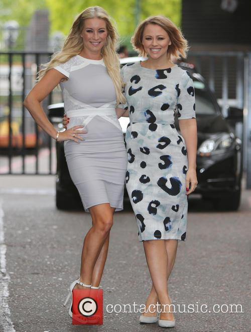 Denise Van Outen and Kimberley Walsh 4