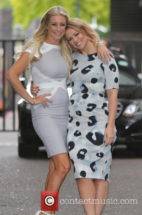 Denise Van Outen and Kimberley Walsh 7