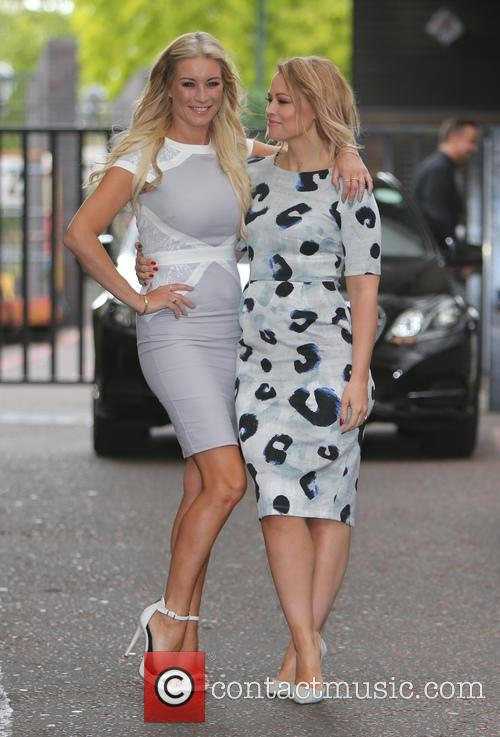 Denise Van Outen and Kimberley Walsh 9