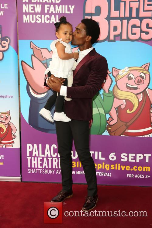 Simon Webbe and Goddaughter 5