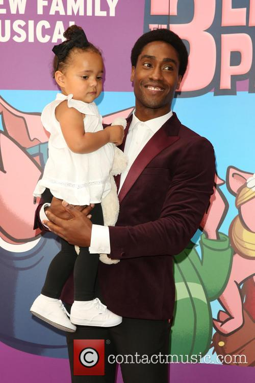 Simon Webbe and Goddaughter 6