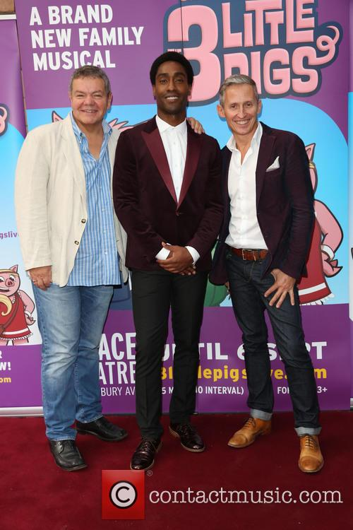 Simon Webbe, George Stiles and Anthony Drewe 9
