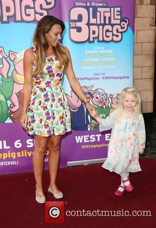 Michelle Heaton and Daughter Faith 6
