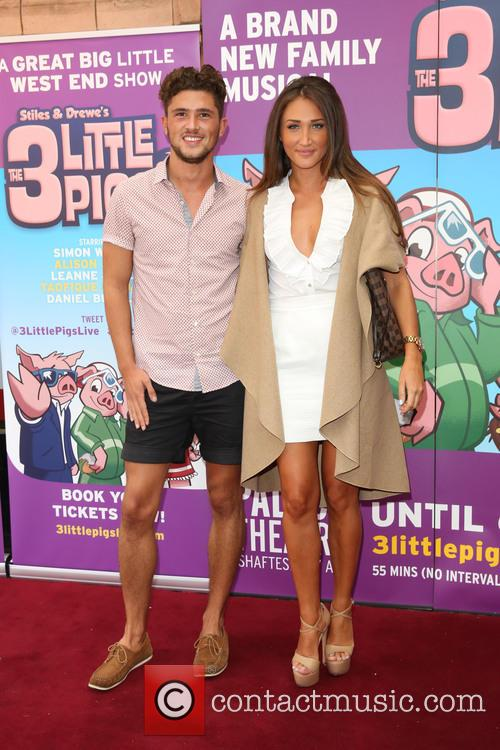 Jordan Davies and Megan Mckenna 1