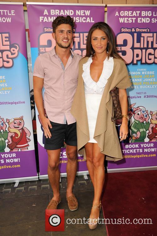 Jordan Davies and Megan Mckenna 3