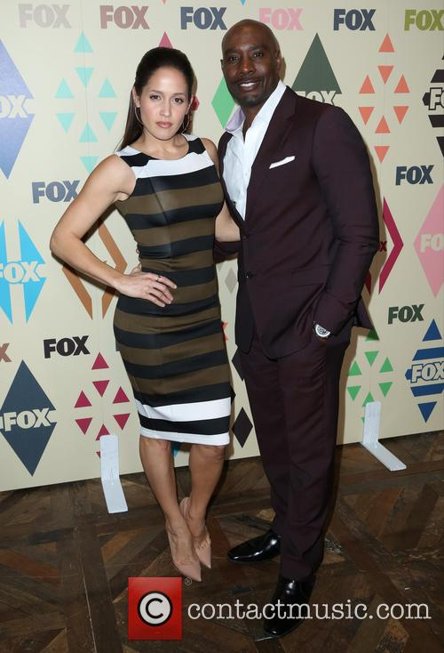 Jaina Lee Ortiz and Morris Chestnut 6
