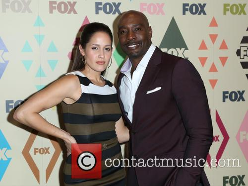 Jaina Lee Ortiz and Morris Chestnut 7