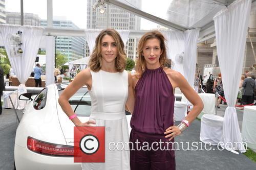 Alysia Reiner and Sarah Megan Thomas at the...