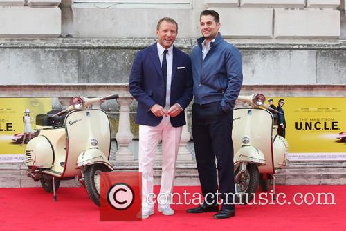 Guy Ritchie and Henry Cavill 10