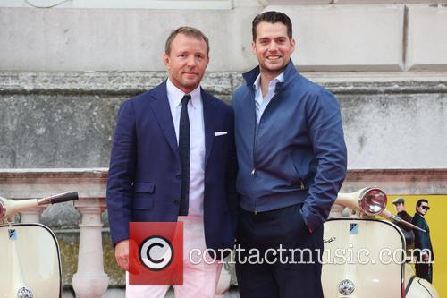Guy Ritchie and Henry Cavill 11