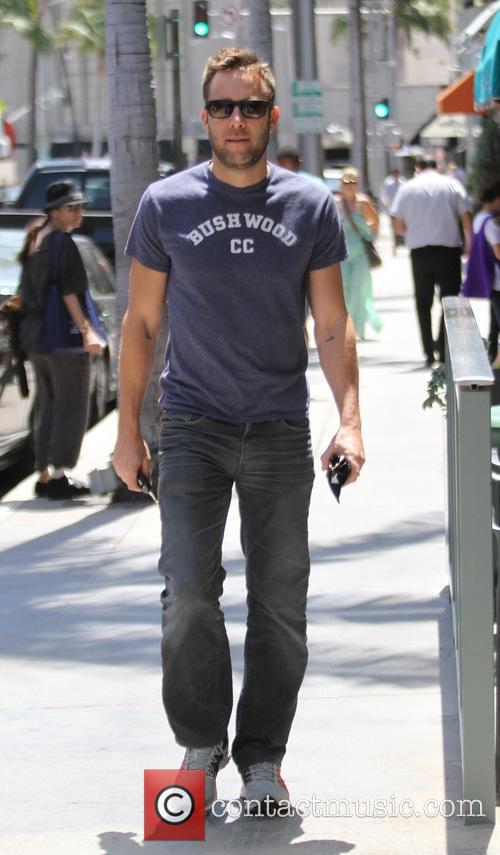Michael Rosenbaum spotted out shopping in Beverly Hills