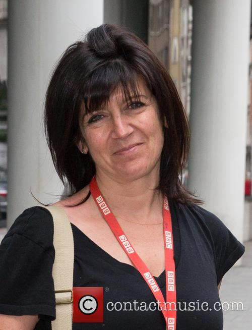 Emma Freud spotted at BBC Studios