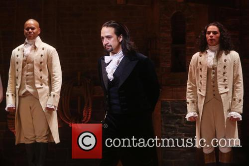 Christopher Jackson, Lin-manuel Miranda and Anthony Ramos 1