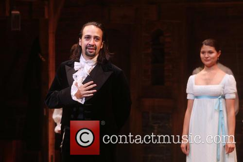 Lin-manuel Miranda and Phillipa Soo 3