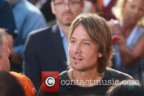 Keith Urban performs live on the 'Today' show's...