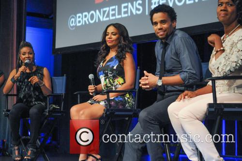 Mc Lyte, Sanaa Lathan, Michael Ealy and Angelique Perrin 2
