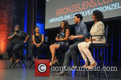 Loni Love, Mc Lyte, Sanaa Lathan, Michael Ealy and Angelique Perrin 2