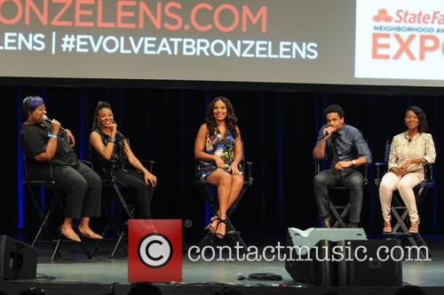 Loni Love, Mc Lyte, Sanaa Lathan, Michael Ealy and Angelique Perrin 4
