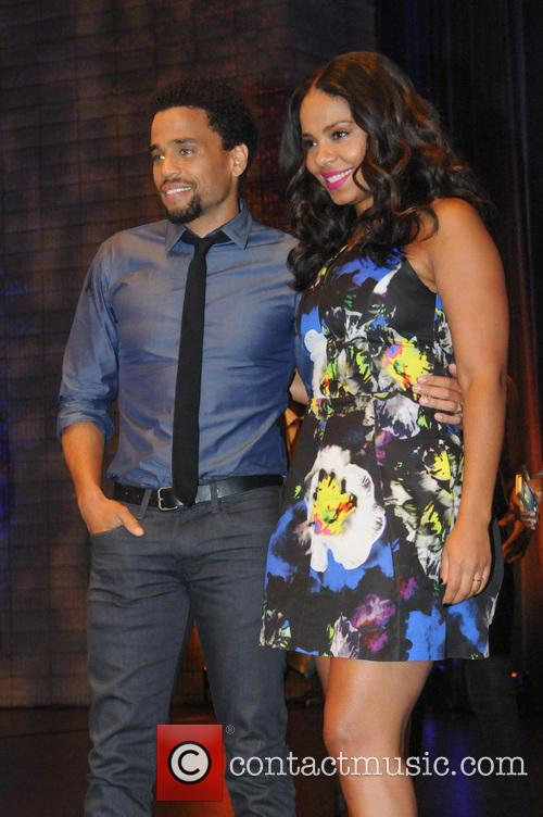 Sanaa Lathan and Michael Ealy 1
