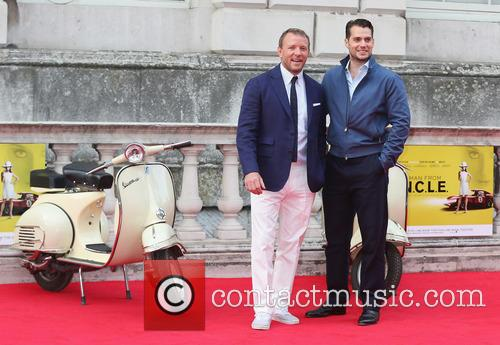 Guy Ritchie and Henry Cavill 1