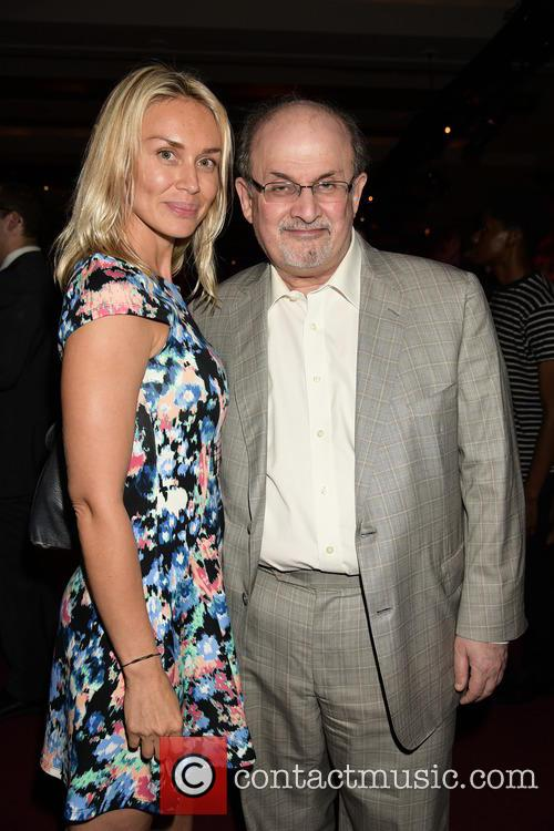 Irina Ovsiannikova and Salman Rushdie