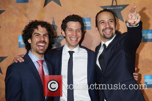 Alex Lacamoire, Thomas Kail and Lin-manuel Miranda 1
