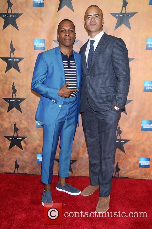 Leslie Odom Jr. and Christopher Jackson 2