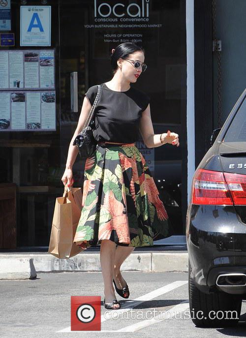 Dita Von Teese spotted shopping at Locali