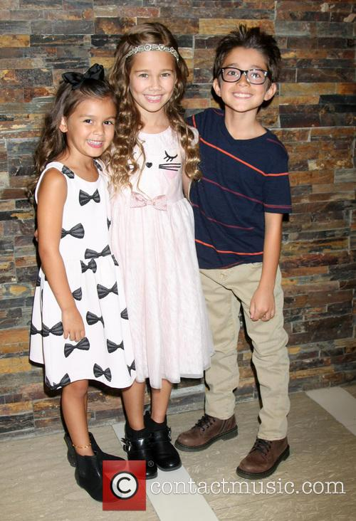 General Hospital, Landon Silzer, Brooklyn Rae Silzer and Nicolas Bechtel 1