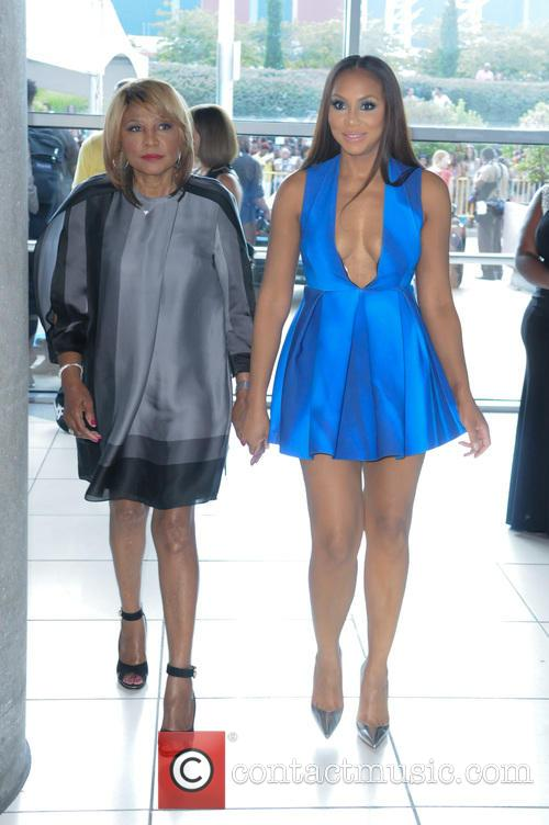 Evelyn Braxton and Tamar Braxton 2