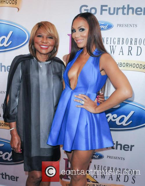 Evelyn Braxton and Tamar Braxton 1