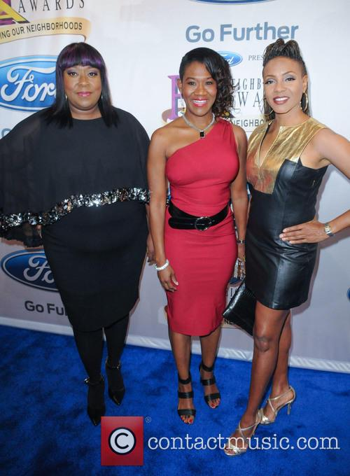 Loni Love, Angelique Perrin and Mc Lyte 1