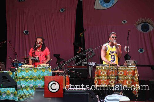 Tendai Maraire and Ishmael Butler 2