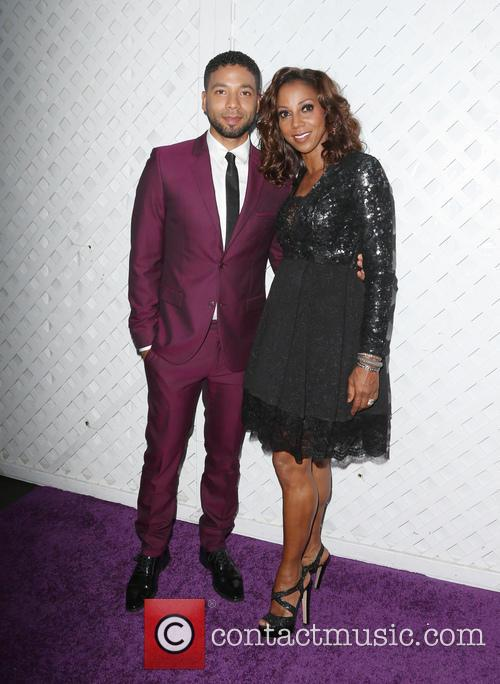 Jussie Smollett and Holly Robinson Peete 2