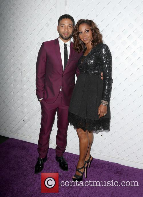 Jussie Smollett and Holly Robinson Peete 3