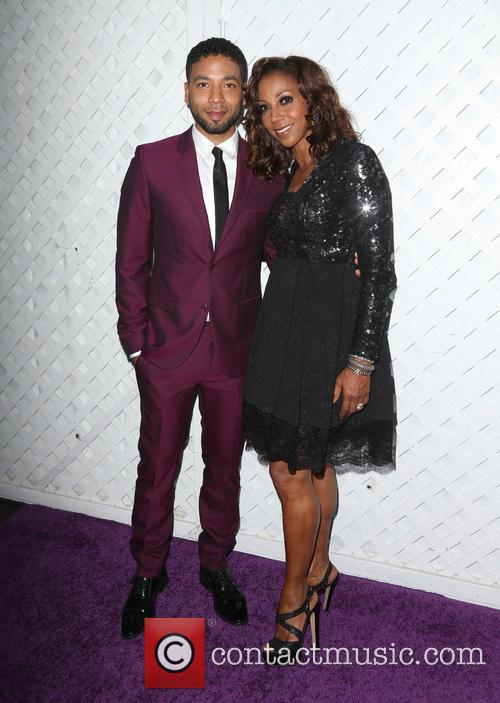 Jussie Smollett and Holly Robinson Peete 4
