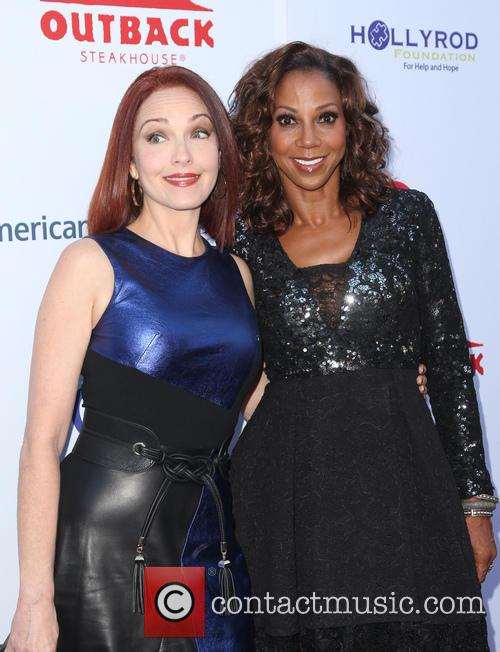 Amy Yasbeck and Holly Robinson Peete 9
