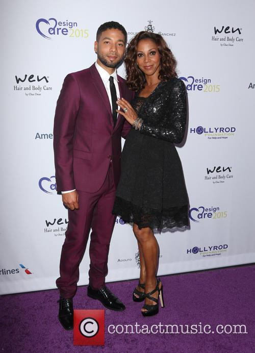 Jussie Smollett and Holly Robinson Peete 6