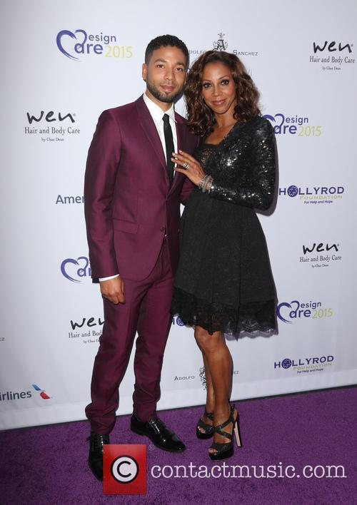 Jussie Smollett and Holly Robinson Peete 7