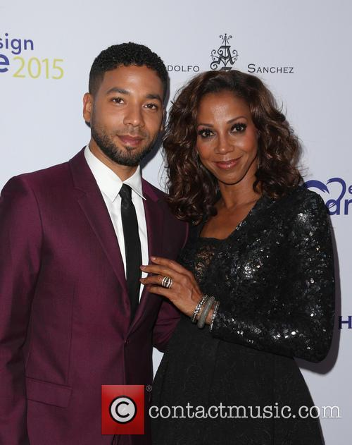 Jussie Smollett and Holly Robinson Peete 1